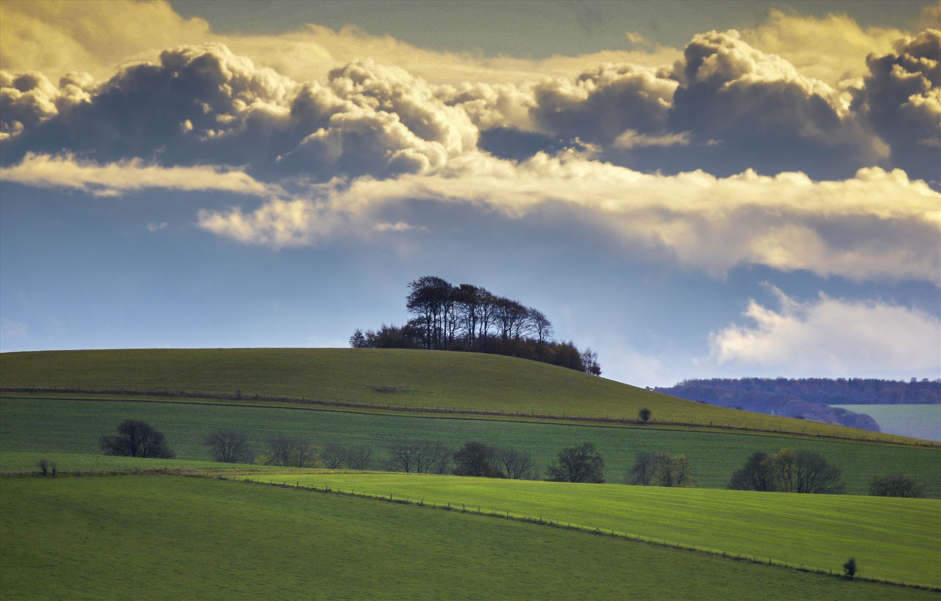 The HeavensThis image was shoot on location near the Marlborough Downs in Wiltshire, UK.
